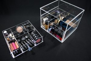 makeup organizer pieces